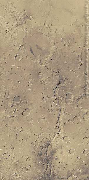 Along Maadim Vallis to Gusev Crater