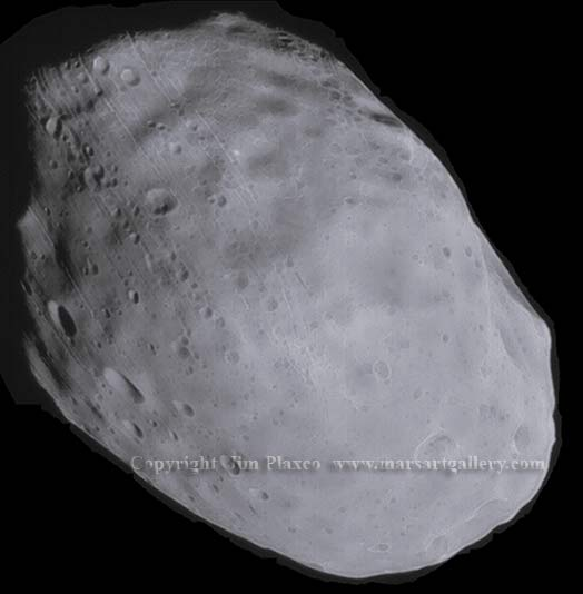 The Martian Moon Phobos